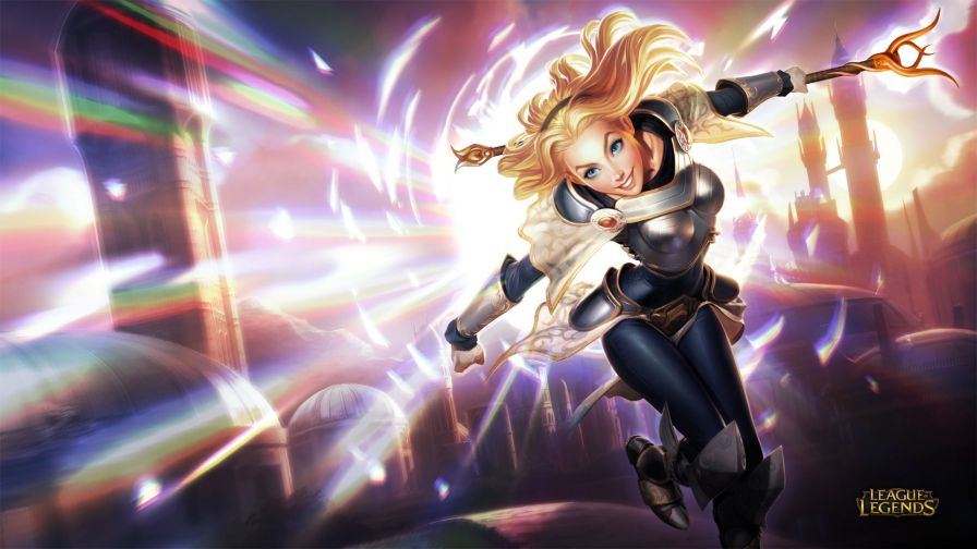 League Of Legends Lux Hd Wallpaper for Desktop and Mobiles