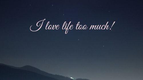 Life inscription HD Wallpaper