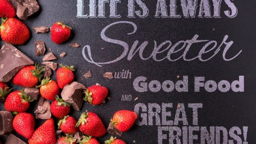 Life is always sweeter HD Wallpaper
