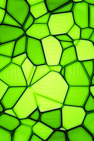 Light green triangles HD Wallpaper