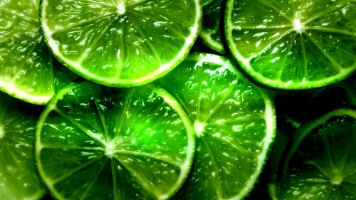 Lime slices HD Wallpaper
