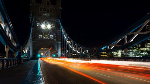 London city lights HD Wallpaper