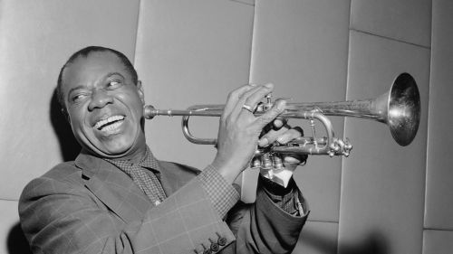 Louis Armstrong HD Wallpaper