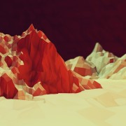 Low poly HD Wallpaper
