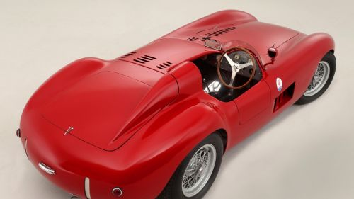 Maserati 300S HD Wallpaper