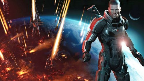 Mass Effect 3 - We Face Our Enemy Together HD Wallpaper