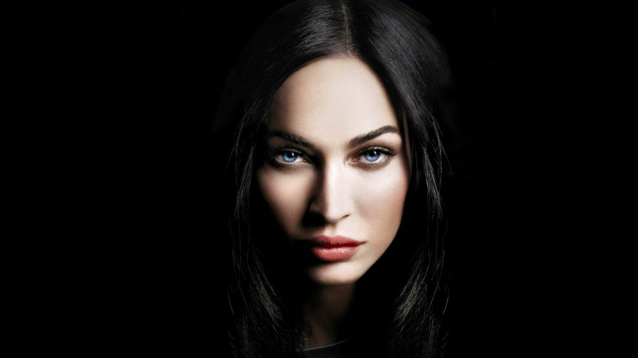 Megan Fox blue eyes HD Wallpaper