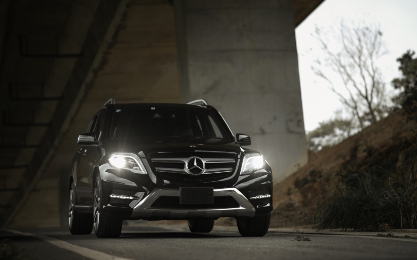 Mercedes GLK 350 HD Wallpaper