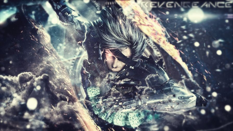 Metal Gear Rising HD Wallpaper