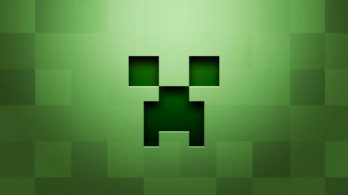 Minecraft backround HD Wallpaper
