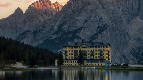 Misurina lake HD Wallpaper