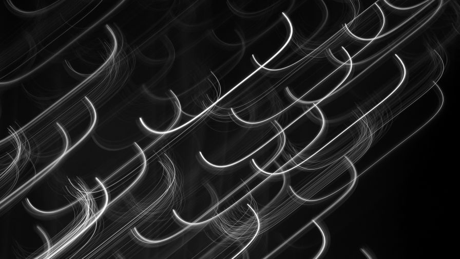 Monochrome form of lines HD Wallpaper