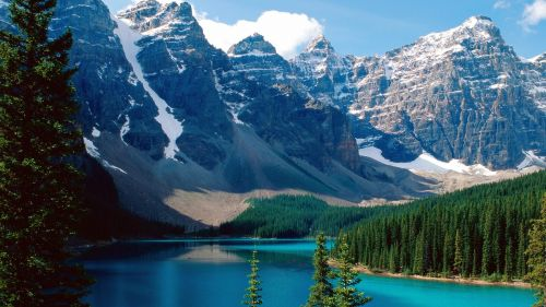 Moraine Lake HD Wallpaper