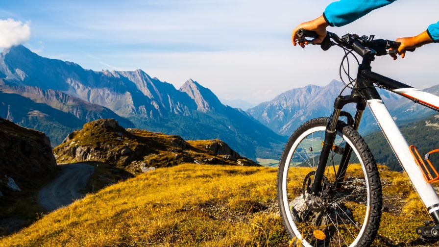 Mountain Bike Wallpaper for Desktop and Mobiles