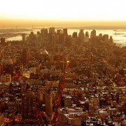 New York City Drone HD Wallpaper