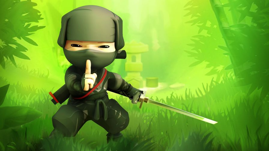 Ninja Cartoon Wallpaper for Desktop and Mobiles