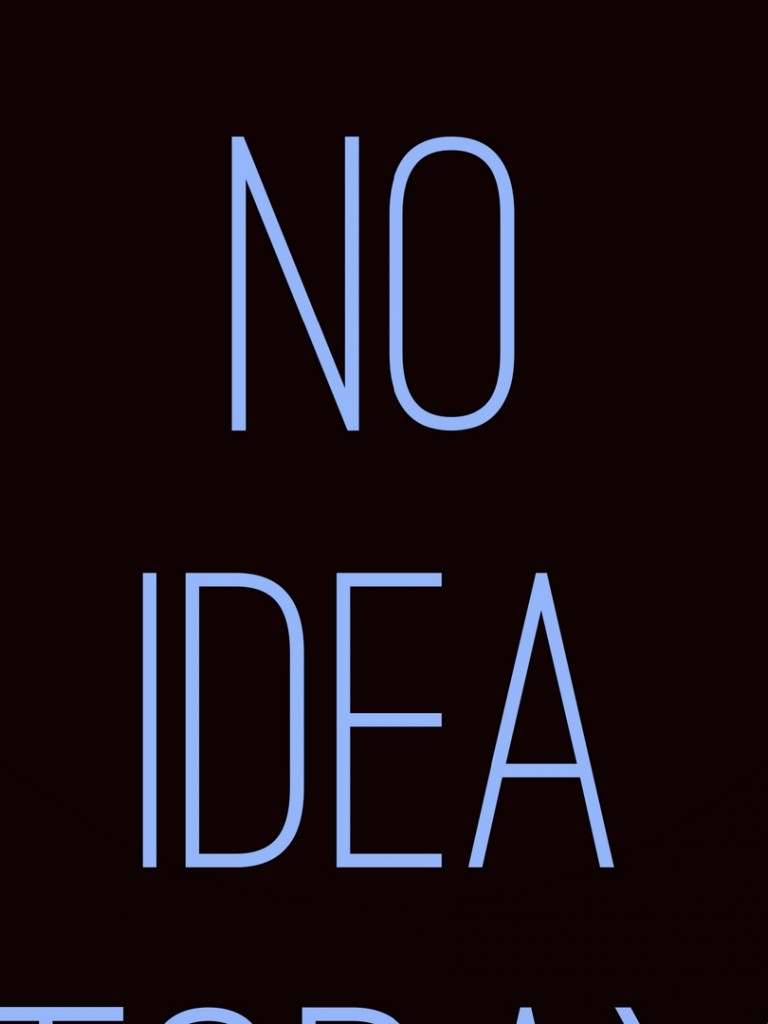 No idea HD Wallpaper