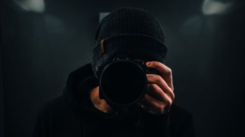 Photographer taking a picture HD Wallpaper