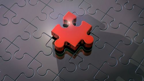 Piece of puzzle HD Wallpaper
