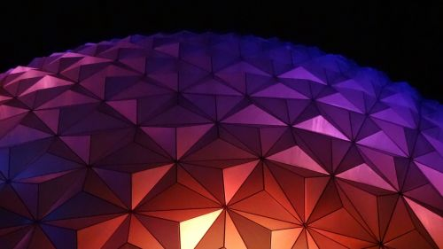 Polygon shaped surface HD Wallpaper