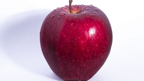 Red Apple Hd Wallpaper for Desktop and Mobiles