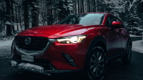 Red Mazda 6 HD Wallpaper