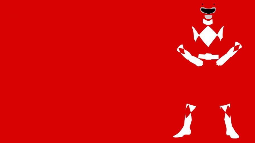 Red Power Ranger HD Wallpaper