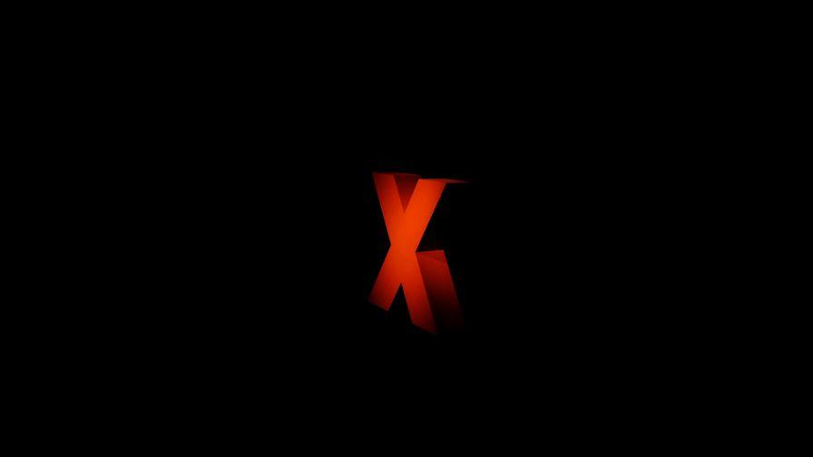 Red X Letter Hd Wallpaper Wallpapers Net
