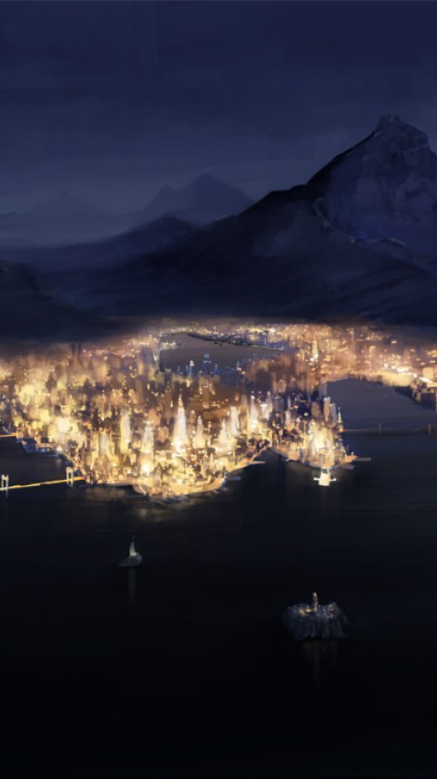 Republic City HD Wallpaper
