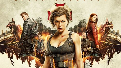 Resident Evil The Final Chapter Wallpaper for Desktop and Mobiles