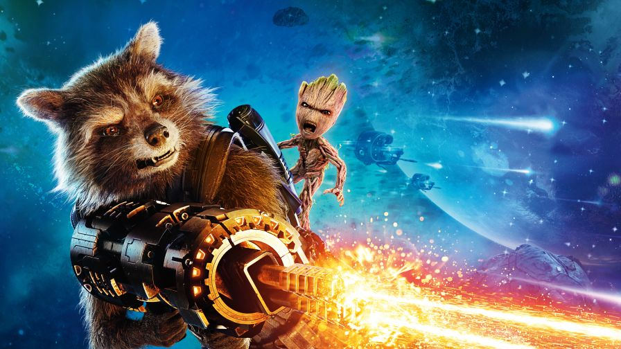 Rocket Guardians of The Galaxy Wallpaper for Desktop and Mobiles