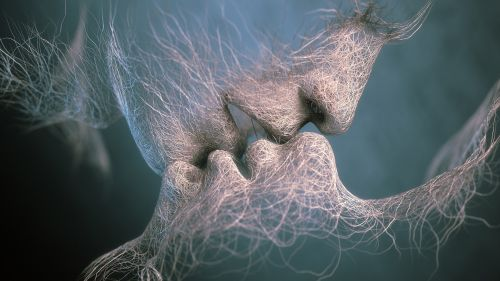 Romantic Kiss Hd Wallpaper for Desktop and Mobiles