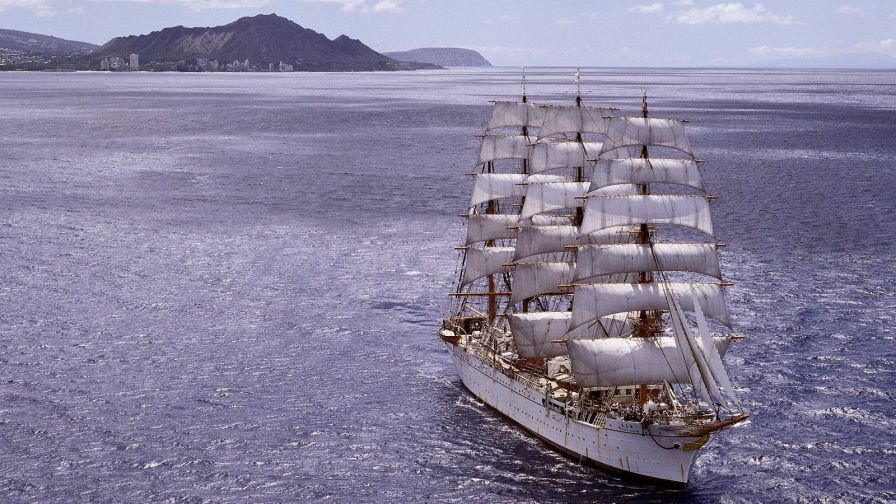Sailing ship HD Wallpaper - Wallpapers.net