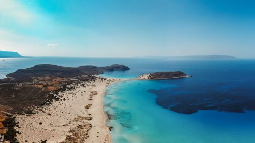 Sea of Laconia in Greece HD Wallpaper