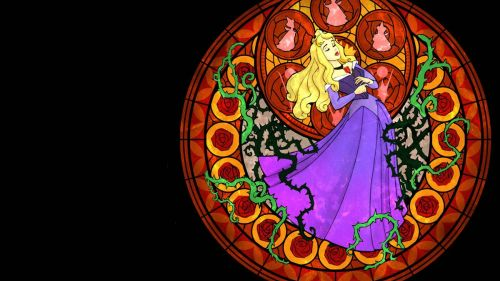 Sleeping Beauty Kingdom Hearts HD Wallpaper
