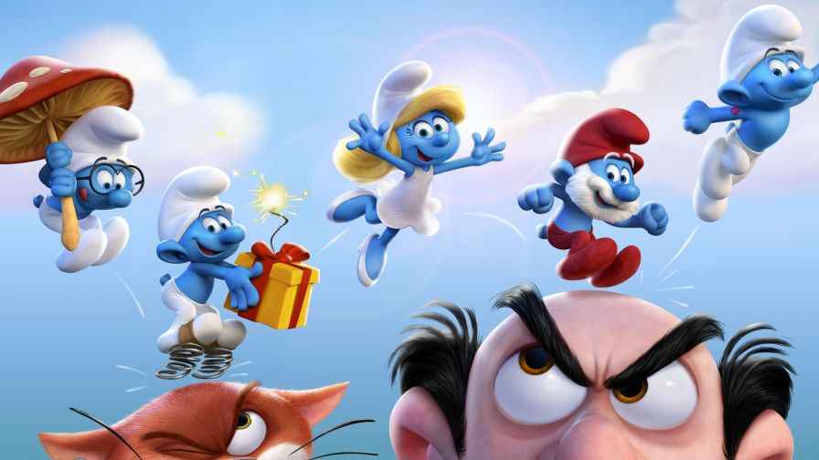 Smurfs The Lost Village Wallpaper for Desktop and Mobiles