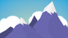 Snow Mountain Clipart HD Wallpaper