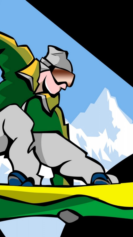 Snowboarder HD Wallpaper