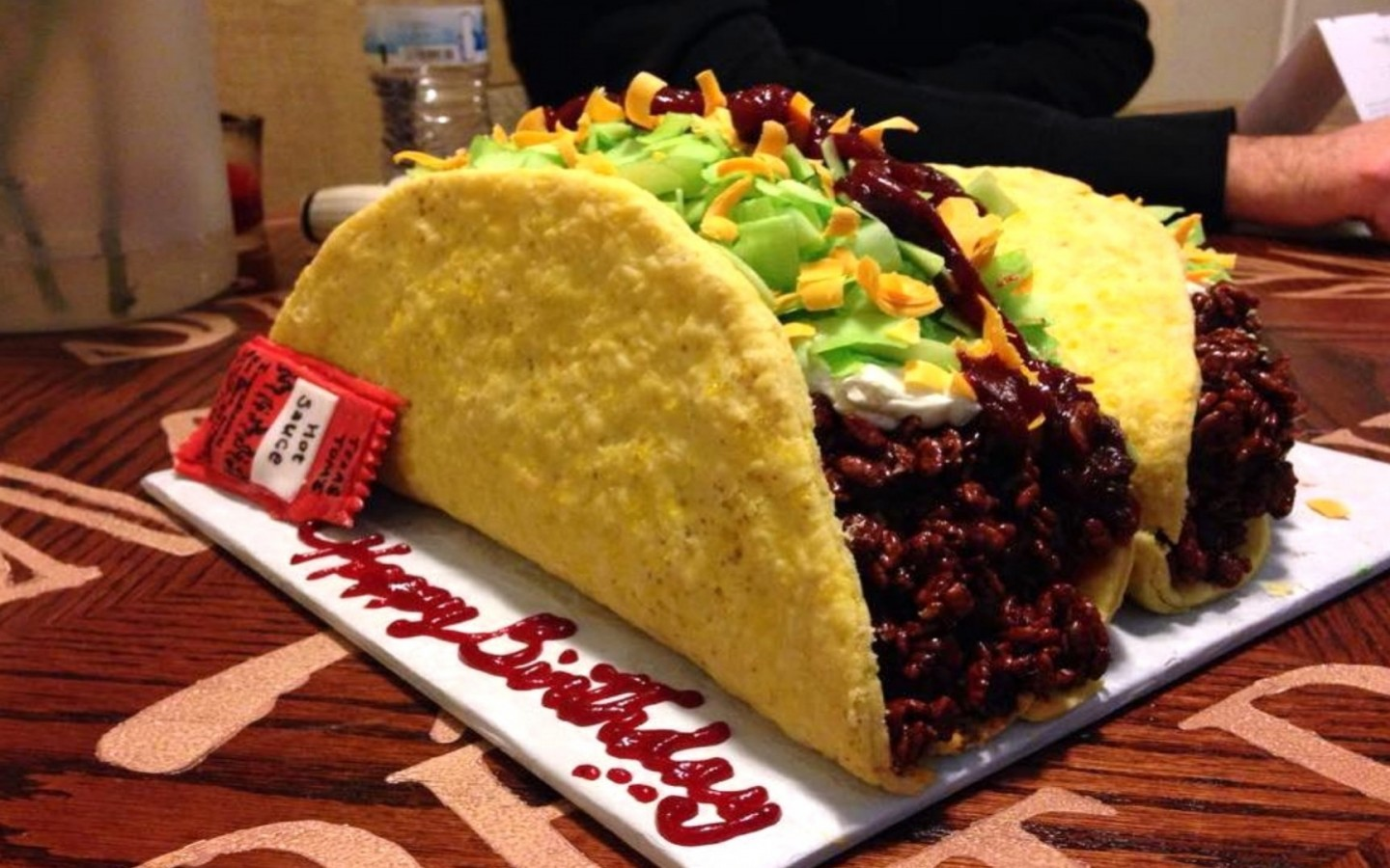 Taco Birthday Cake HD Wallpaper