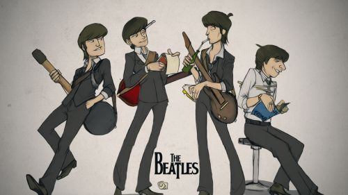 The Beatles Hd Wallpaper for Desktop and Mobiles