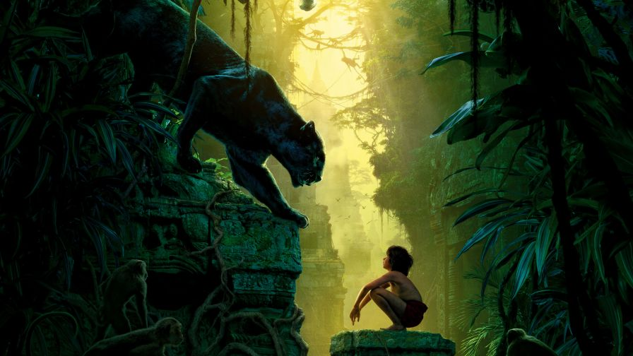 The Jungle Book Movie Hd Wallpaper for Desktop and Mobiles