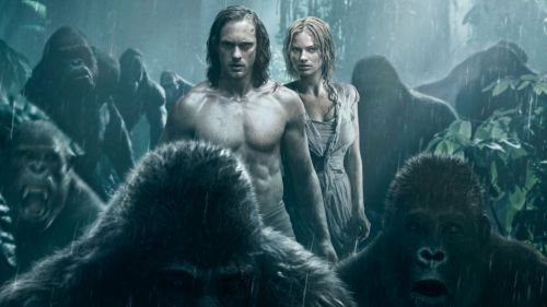 The legend of Tarzan poster HD Wallpaper