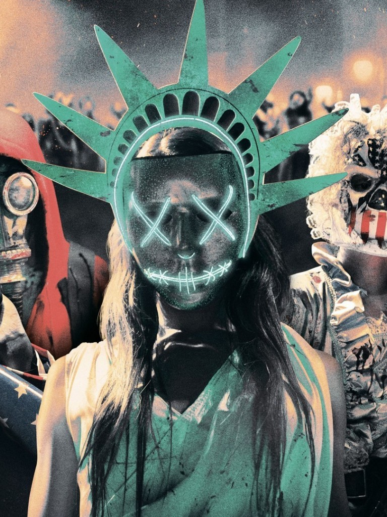 The purge election HD Wallpaper