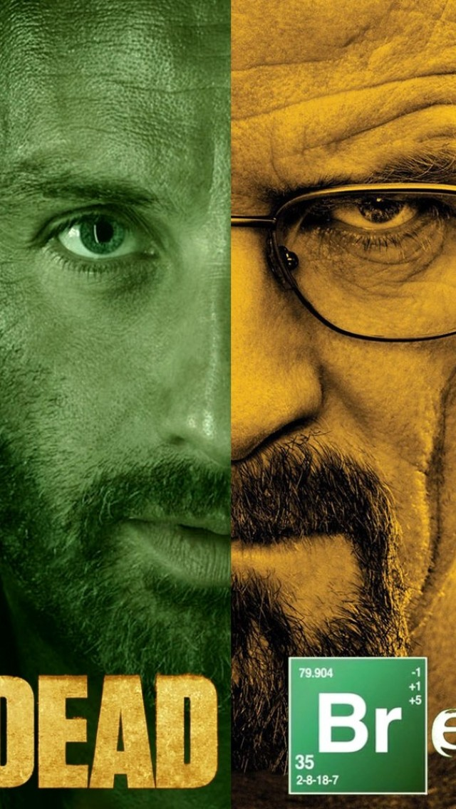 The walking dead Breaking bad HD Wallpaper