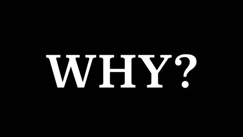 The why word HD Wallpaper