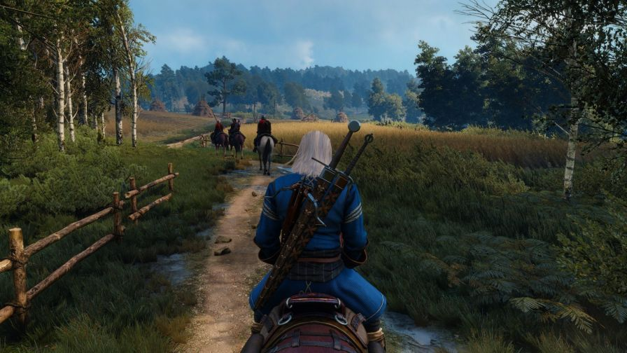 The witcher Gerald of Rivia HD Wallpaper