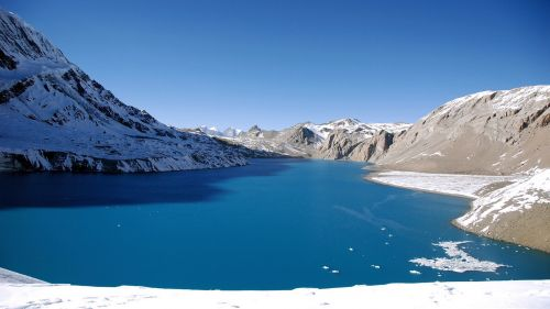 Tilicho lake (Nipal) HD Wallpaper