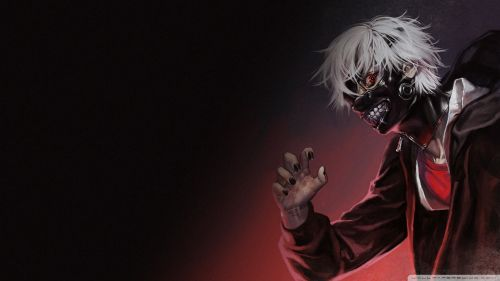 Tokyo Ghoul Kaneki Full Hd Wallpaper for Desktop and Mobiles