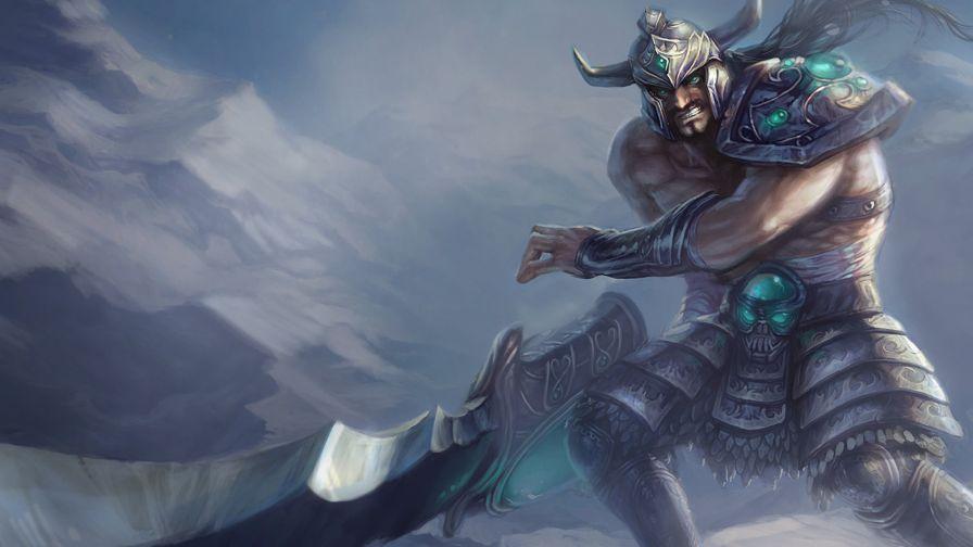 Tryndamere League Of Legends Animated Wallpaper For Desktop