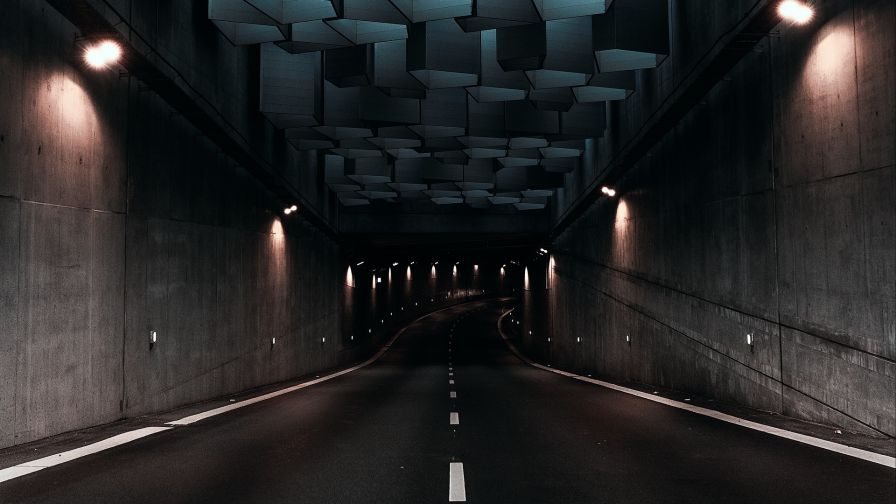 Tunnel in Denmark HD Wallpaper